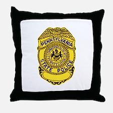 Pennsylvania State Police Throw Pillow