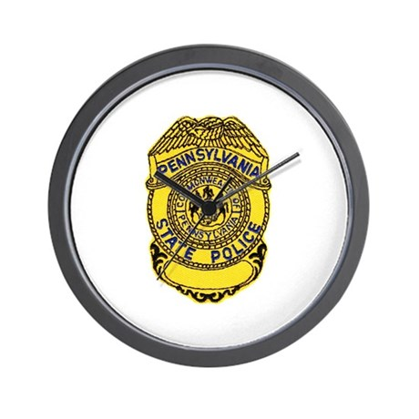 Pennsylvania State Police Wall Clock