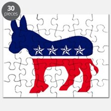 Cute Democrat donkey Puzzle