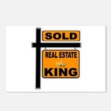 REALTOR KING Postcards (Package of 8)