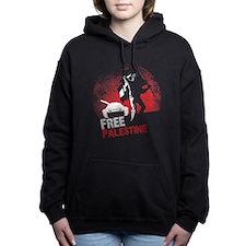 Free Palestine Women's Hooded Sweatshirt