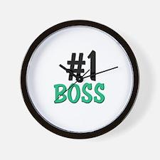 Number 1 BOSS Wall Clock