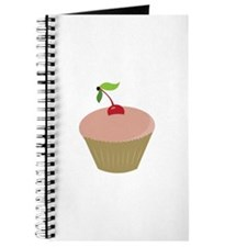 Cherry Topped Cupcake Journal