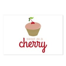 Sweet as a Cherry Postcards (Package of 8)
