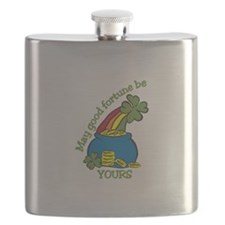 May good fortune be yours Flask