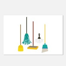 Cleaning Tools Postcards (Package of 8)