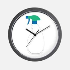 Spray Bottle Wall Clock