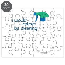 I Would rather be cleaning Puzzle