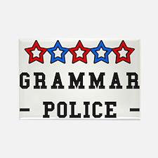 Grammar Police Rectangle Magnet