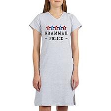 Unique Grammar police Women's Nightshirt