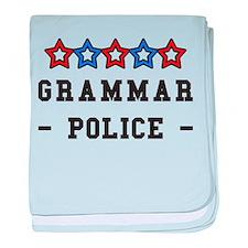Unique Police humor baby blanket