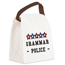 Unique Grammar Canvas Lunch Bag