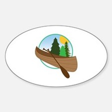 Canoe Logo Decal