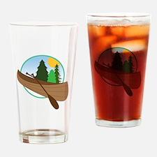 Canoe Logo Drinking Glass