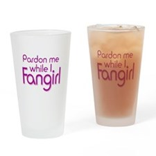 Pardon Me Drinking Glass