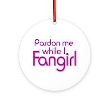 Pardon Me Ornament (Round)