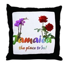 Jamaica Goodies Throw Pillow