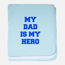 My dad is my hero, cute, baby, shower, kid, father