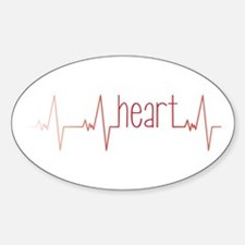 Heart Beat Decal