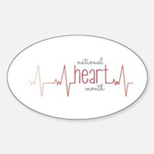 National Heart Month Decal