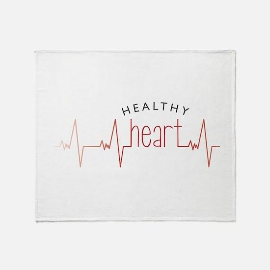 Healthy Heart Throw Blanket