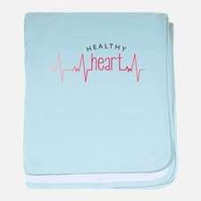 Healthy Heart baby blanket