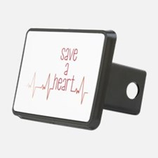Save a Heart Hitch Cover