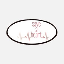 Save a Heart Patches