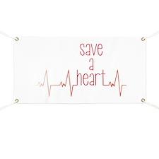 Save a Heart Banner