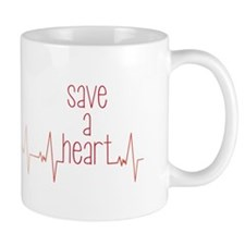 Save a Heart Mugs