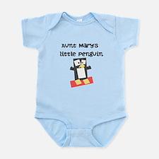 Aunts Little Penguin (Custom) Body Suit