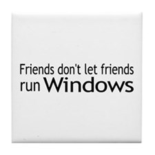 Friends Windows Tile Coaster