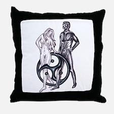 S&M Bondage Throw Pillow
