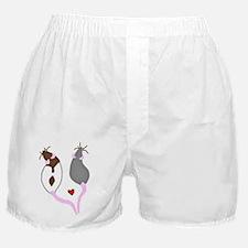 Funny Rats Boxer Shorts