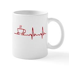 Morning Coffee Heartbeat EKG Mugs