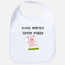 Aunts Little Piggy (Custom) Bib