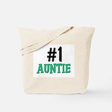Number 1 AUNTIE Tote Bag