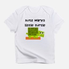 Aunts Little Turtle (Custom) Infant T-Shirt
