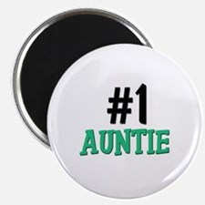 """Number 1 AUNTIE 2.25"""" Magnet (10 pack)"""