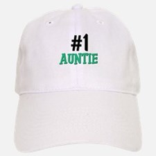 Number 1 AUNTIE Baseball Baseball Cap
