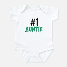 Number 1 AUNTIE Onesie