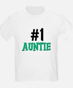 Number 1 AUNTIE T-Shirt