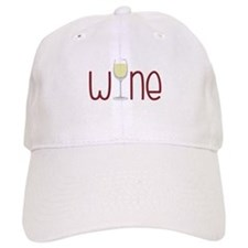 Wine Baseball Baseball Baseball Cap