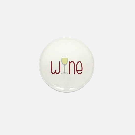 Wine Mini Button
