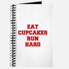 EAT CUPCAKES RUN HARD, yoga, motivational, sports,