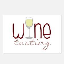 Wine Tasting Postcards (Package of 8)