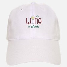 Wine OClock Baseball Baseball Baseball Cap