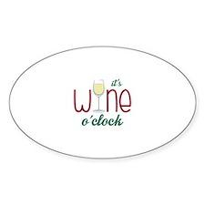 Wine OClock Decal