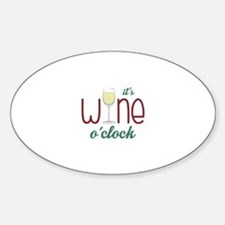 Wine OClock Decal