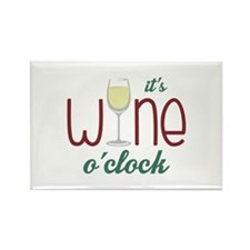 Wine OClock Magnets